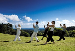 mountain sunrise tai chi
